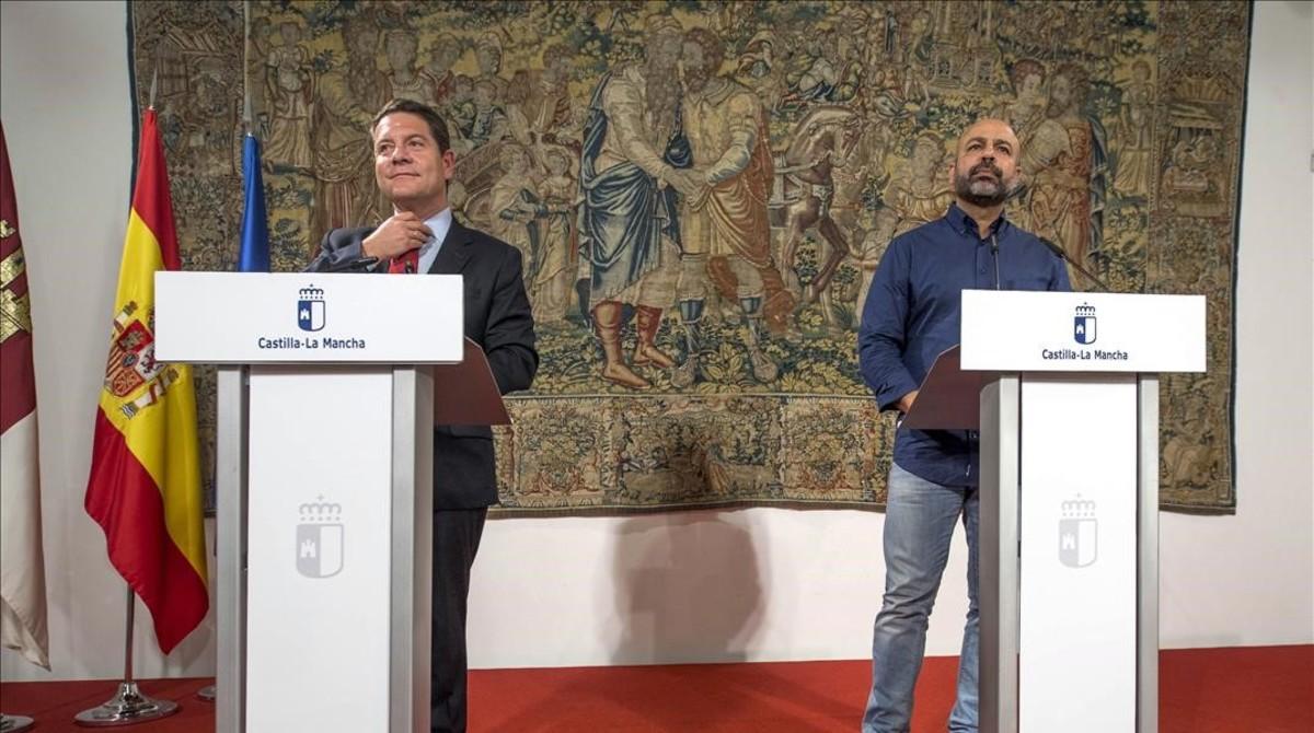PSOE y Podemos retiran los 'sobresueldos' a altos cargos en Castilla-La Mancha