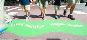Entre las propuestas recogidas en Sant Boi se incluye la construcción de una red de caminos escolares seguros