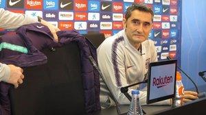 Ernesto Valverde afirmó hoy, en la Joan Gamper, que su sintonía con el club es excelente.