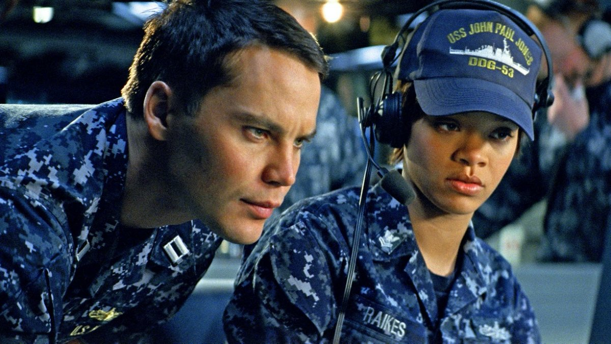 Escena de 'Battleship'.