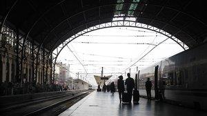 La estación del Norte, en Valencia.