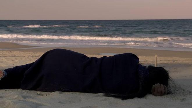 Estrenos de la semana. Tráiler de En la playa sola de noche. (2017)