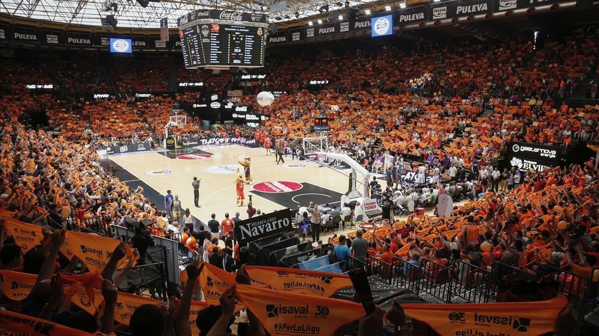 La Fonteta, el pabellón del Valencia Basket.
