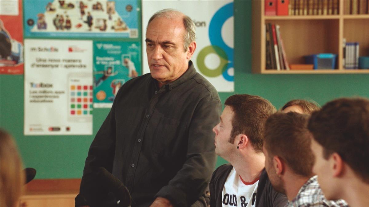 Francesc Orella, en la tercera temporada de 'Merlí'.