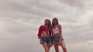 Las gemelas Cristina y Victoria Iglesias en una foto que subió la primera a las redes sociales.