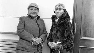 Gertrude Stein (izquierda) con Alice B. Toklas.