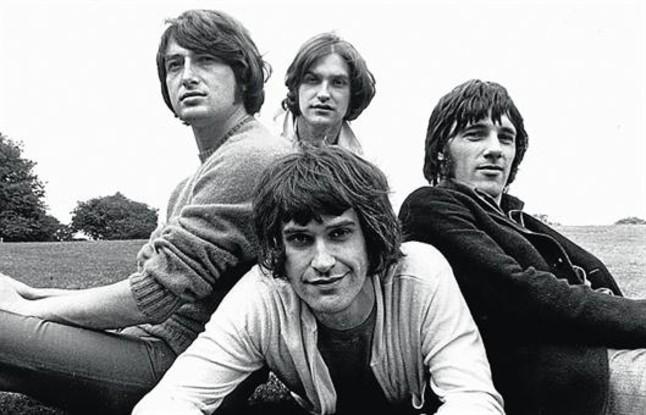 El grupo británico The Kinks, en 1968.