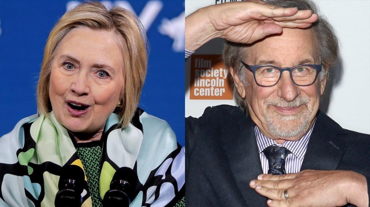 Hillary Clinton y Steven Spielberg, socios en un proyecto audiovisual
