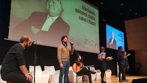 Homenaje a Jorge Wagensberg de la Associació Catalana de Comunicació Científica (ACCC) y Cosmocaixa, el pasado 1 de diciembre.