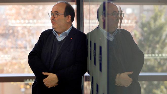 Iceta: Si ERC y PDECatno apoyan los Presupuestos, no negociaremos las cuentas catalanas.