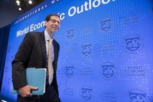 Informe 8El economista del FMI Maurice Obstfeld, ayer, en la sede de la institución en Washington.