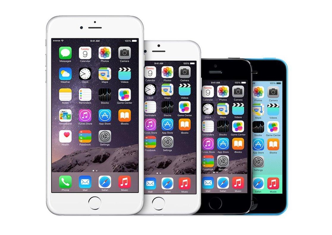 Modelos de iPhone a la venta, segunda mano.