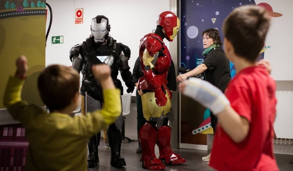 Cuando Iron Man mató al cáncer