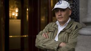 El portavoz del Sindicato de Policías de Catalunya (SPC), David Miquel.