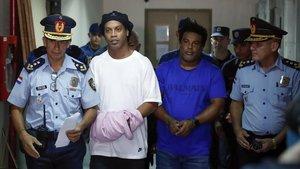 Presó provisional per a Ronaldinho al Paraguai