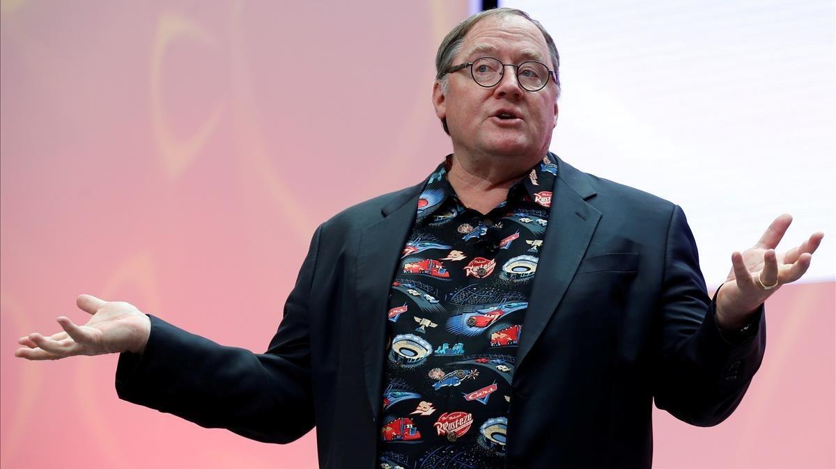 John Lasseter, director creativo de Pixar y Disney.
