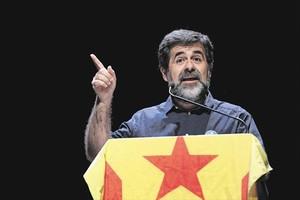 Jordi Sànchez, en un actode la ANC.