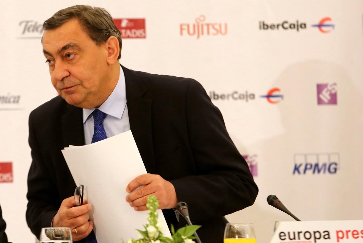 El fiscal general del Estado,Julían Sánchez Melgar.