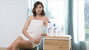 La modelo Nieves Álvarez posa para Lactovit.