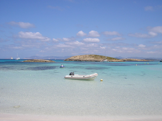 La mejor playa de España, Ses Illetes, según los usuarios de TripAdvisor.