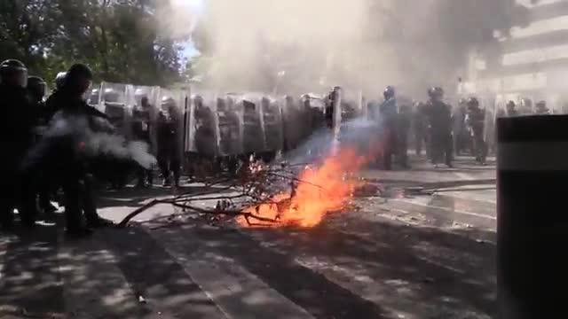 Protestas en México tras la muerte de Giovanni López a manos de la policía.