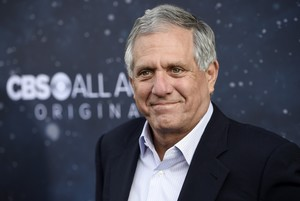 FILE - In this Sept 19 2017 file photo Les Moonves chairman and CEO of CBS Corporation poses at the premiere of the new television series Star Trek Discovery in Los Angeles Six women are making new sexual misconduct allegations against CBS chief Leslie Moonves whose reign as one of the most powerful executives in Hollywood appears nearing an end Photo by Chris Pizzello Invision AP File