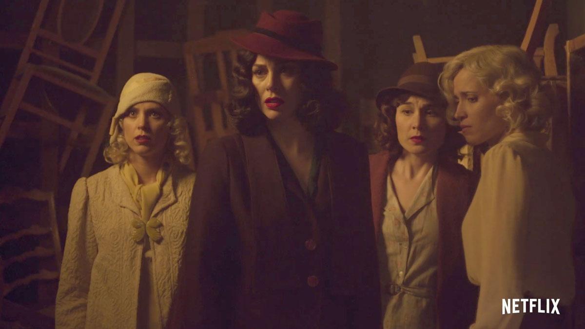 Llega el tráiler de la cuarta temporada de 'Las chicas del cable'.