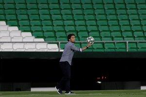 Rubi, destituït com a entrenador del Betis