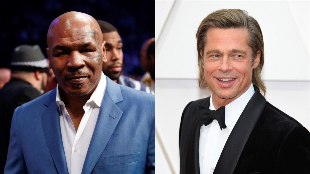 Mike Tyson recorda quan va enxampar la seva exdona al llit amb Brad Pitt