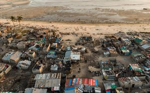 Los estragos del ciclón Idai en su paso por Beira, Mozambique.