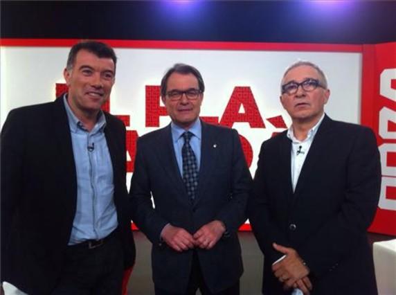 Mas ha sido entrevistado en el programa El Pla Sardà.