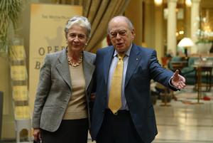 El expresident Jordi Pujol y su esposa, Marta Ferrusola, enuna foto de archivo.
