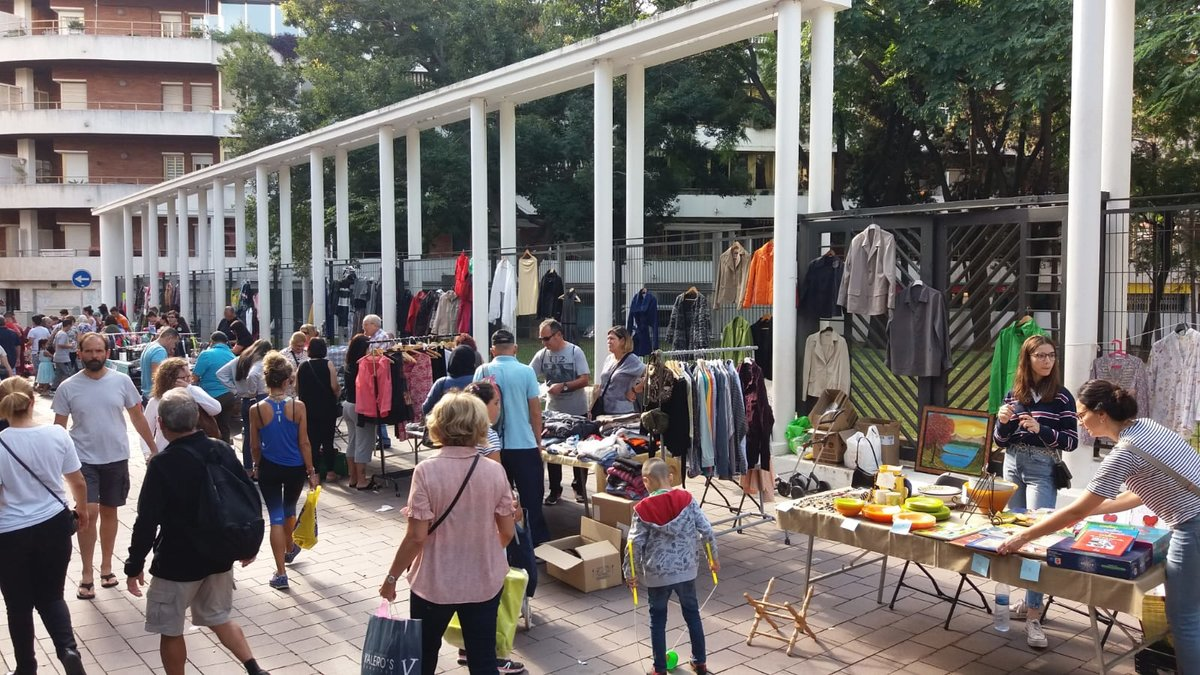 Gavà organitza el Mercat de Segona Mà en la Setmana Europea de la Prevenció de Residus