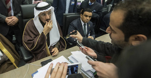 El ministro de Petróleo de Arabia Saudí, Jalid Al-Falih.