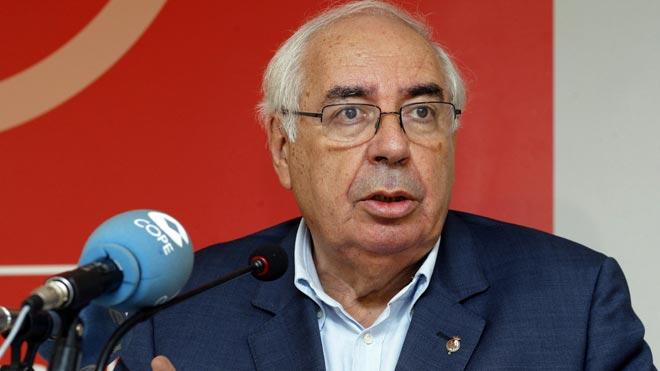 Muere el expresidente de Asturias Vicente Álvarez Areces.