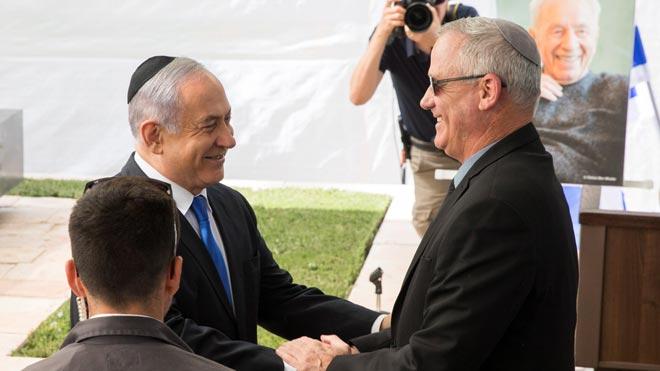 Netanyahu emplaza a Gantz a formar un amplio gobierno de unidad.