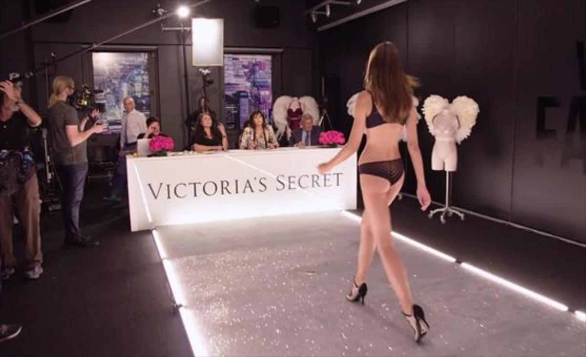 Una imagen del casting del desfile de Victorias Secret, que tendrá lugar el 28 de noviembre en Shangái.