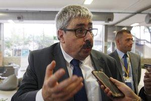 El subsecretario de Relaciones Exteriores de Uruguay, Ariel Bergamino, en la49 Asamblea General de la OEA.