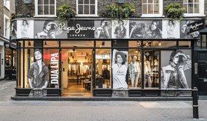 Tienda de Pepe Jeans en Londres.