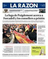 La suerte carcelaria de Puigdemont, el Govern y Forcadell acapara los titulares