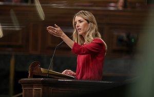 La portavoz del Partido Popular, Cayetana Álvarez de Toledo, en el Congreso de los Diputados.
