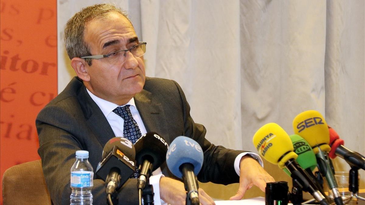 El presidente del Gremi dEditors de Catalunya, este lunes.