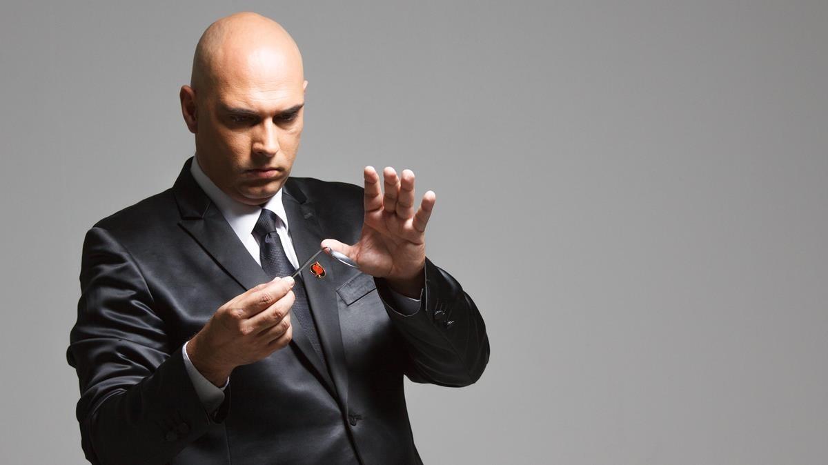 El prestigioso ilusionista y mentalista Magno, en una imagen promocional.