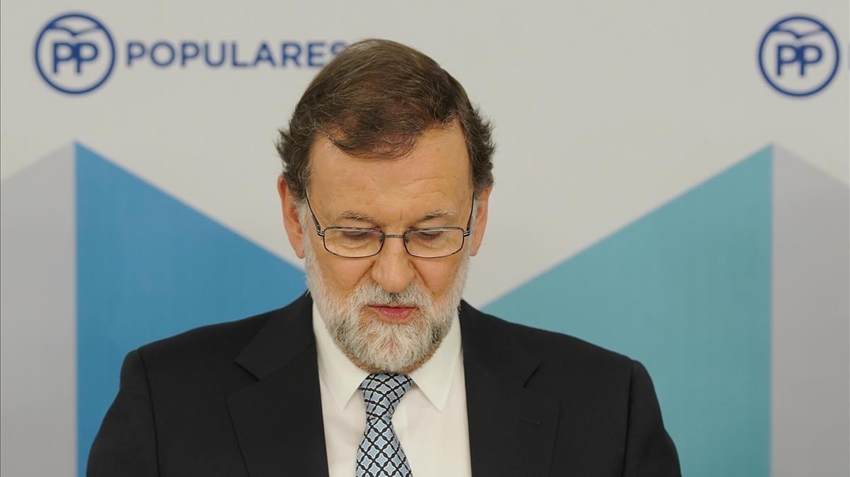 El expresidente del Gobierno Mariano Rajoy.