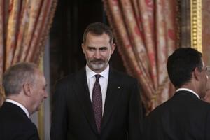 """El Rey Felipe VI apoya ante Abás las """"legítimas aspiraciones"""" a un Estado palestino"""