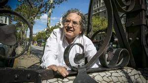 Ricardo Piglia, en Barcelona, el 19 de septiembre del 2013.