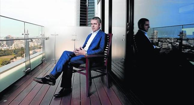 Rowan Atkinson, en septiembre del 2011.