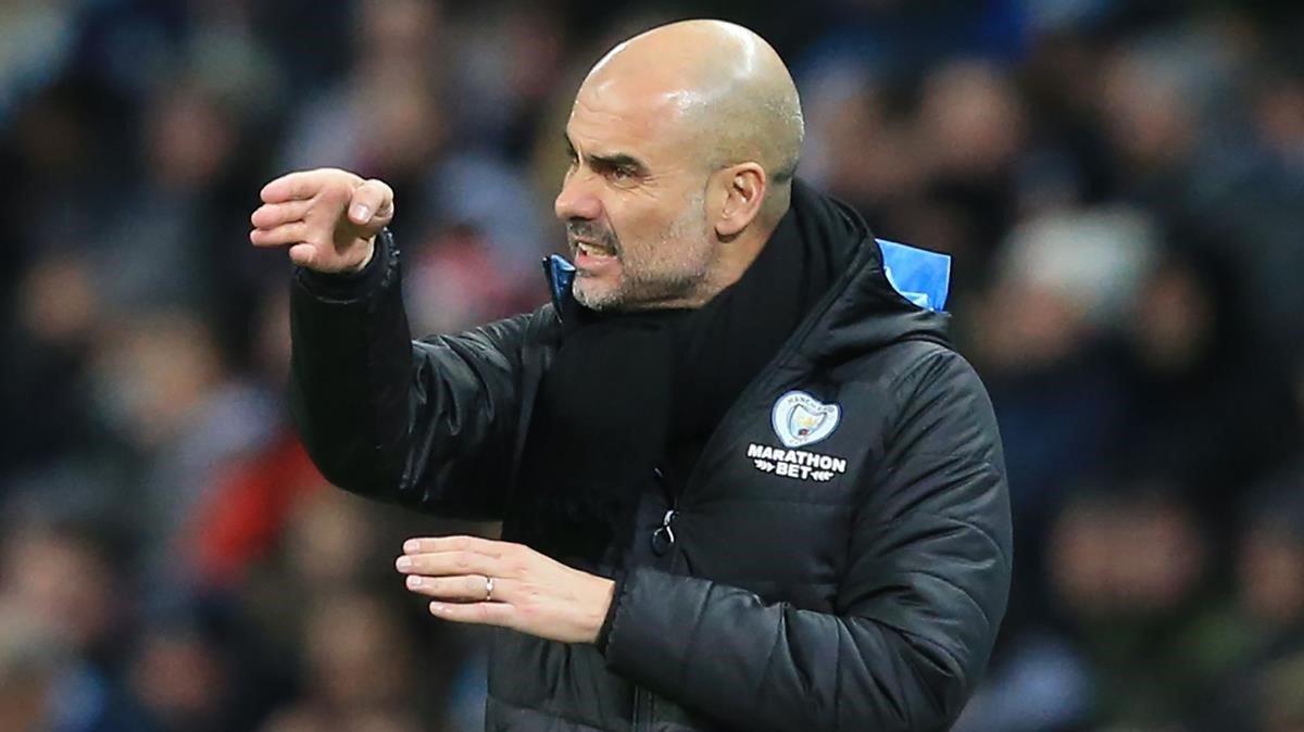 Guardiola llança una pulla a Bartomeu: «Que no parli tan fort»