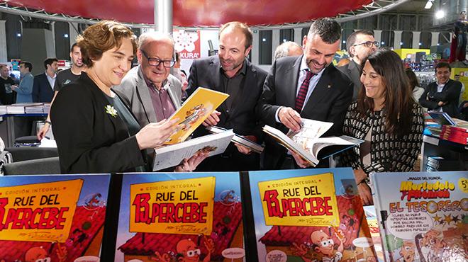 El Saló rendeix homenatge al dibuixant Francisco Ibáñez.