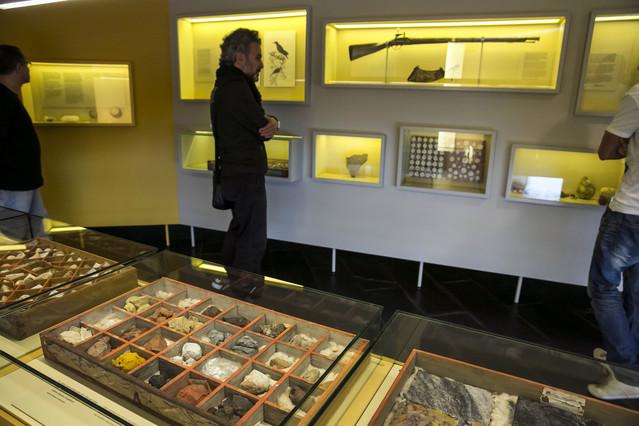 Una col·lecció de minerals que es pot visitar a Salvadoriana, el gabinet de curiositats de Barcelona.